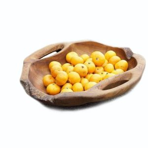 Natural Wood Fruit Bowl Salia