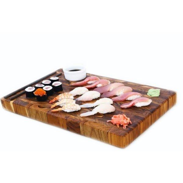 Best Cutting Board Wood Teak Selia Medium